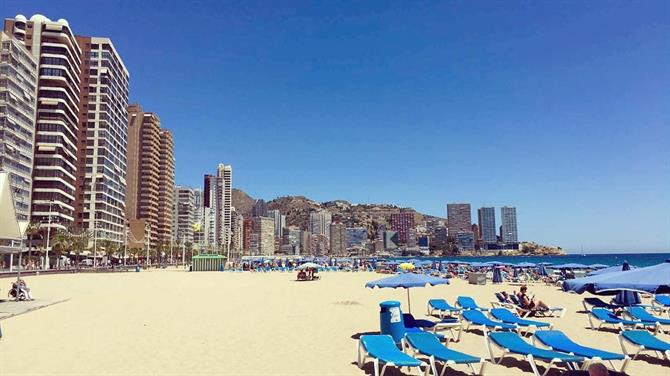 10. A Day at the Beach on the Costa Blanca