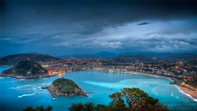 16. Bahía de la Concha - San Sebastián