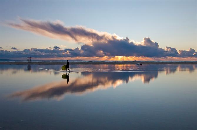 17. The beaches of Cádiz