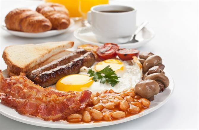 breakfast too!