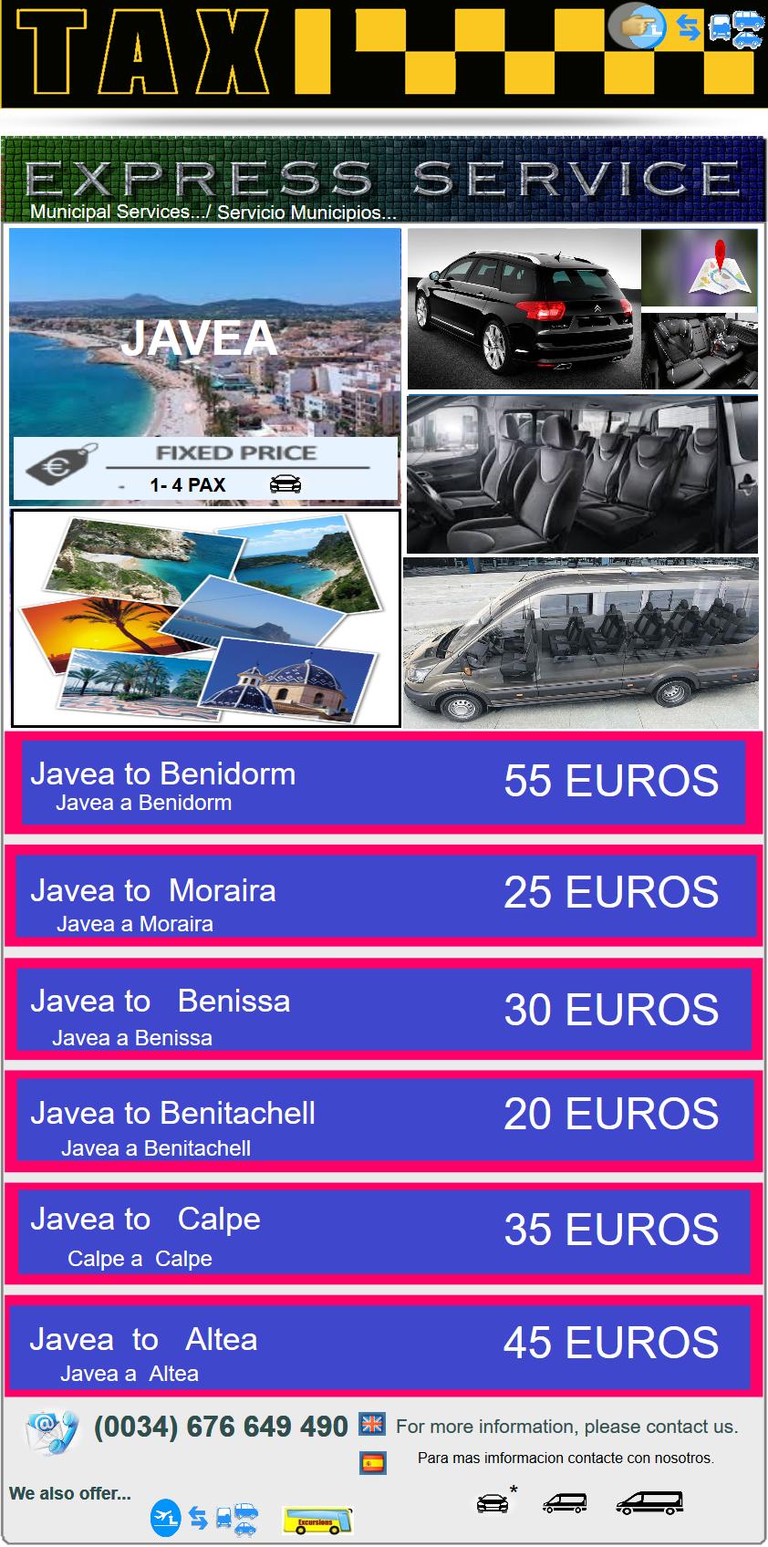EXPRESS SERVICE - Javea-,