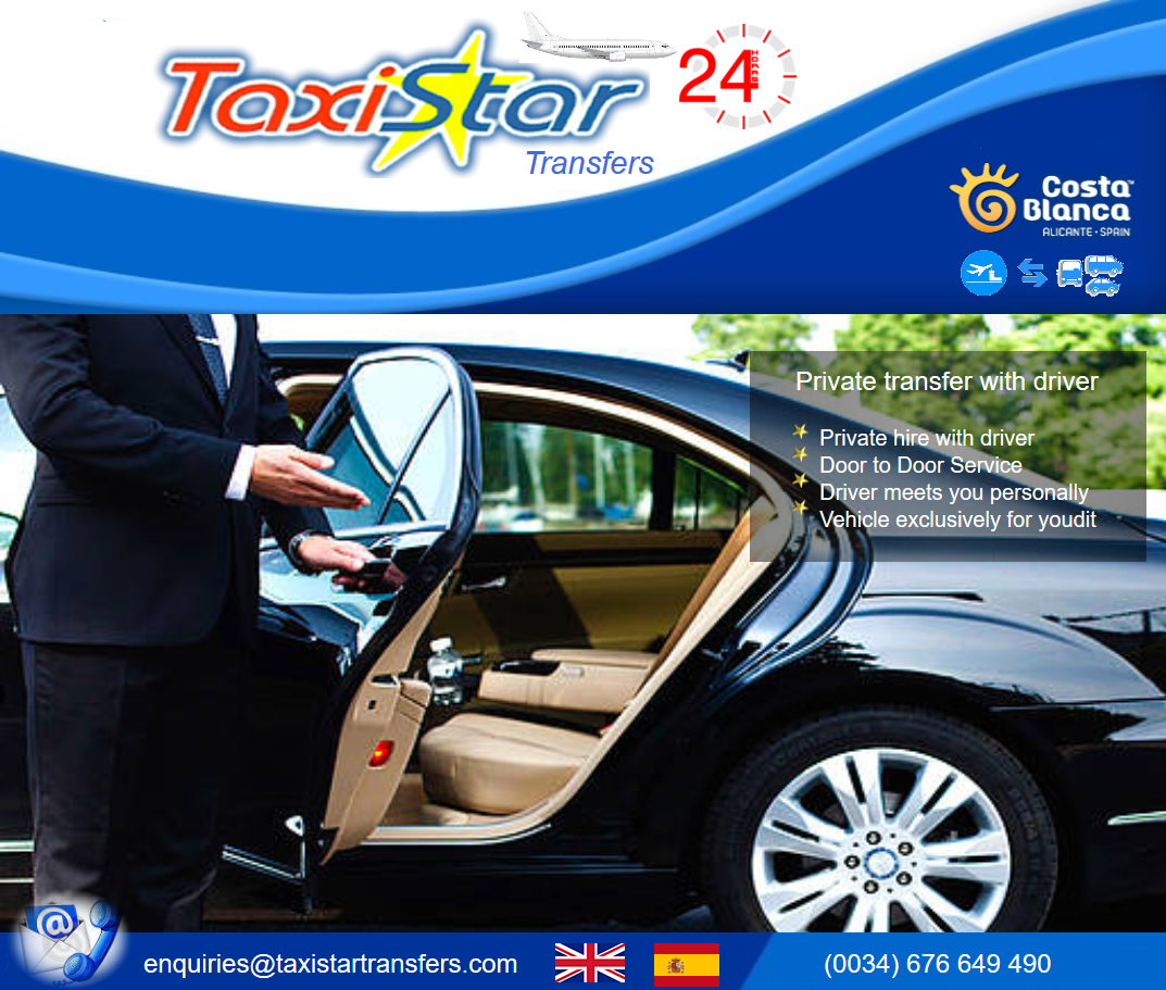 TaxiStar-TRANSFERS AIROPORT-