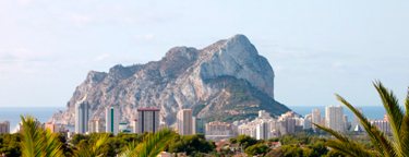 The Penyon d'Ifach in Calpe